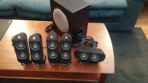 Logitech X530 5.1 Speaker System. (Like New)