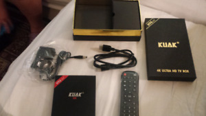 Android Smart tv box with 3gb of ram and 32 gb hdd