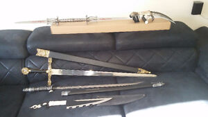 BLADED COLLECTABLE WEAPONS FOR SALE!!!