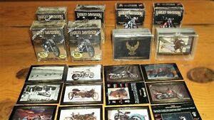 Harley Davidson collector cards