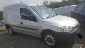 2009MY Vauxhall Combo 1700 1.3 CDTi 75ps * Side Door * Silver * 60 MPG+ * NO VAT