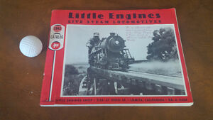 Little Engines, Live Steam Locomotives, 1962 Catalog Kitchener / Waterloo Kitchener Area image 1
