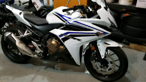 2016 Honda CBR 500R with ABS 50km Yes.. 50km