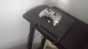 Ps3 with 1 controller and 4 games