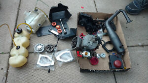 Fifth scale Rc 29cc 2stroke motor and transmission Kitchener / Waterloo Kitchener Area image 1