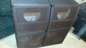 """Custom 12"""" Guitar Speaker Stacks - Unloaded"""