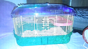hamster/ small animal cage with some tubes
