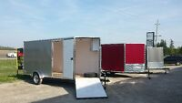 6X12 Vnose toy hauler or contractors unit starting @ 3389.95