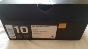 Nike Air Jordan Future Black/White Woven size 10