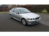 BMW 316 1.8 ti ES Compact * Full Years MOT * DBD CAR SALES