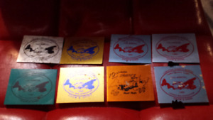 8 old Lobster shanty dash plaques