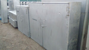 Stainless Steel Cabinets and shelves