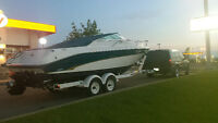 1998 SEA RAY OVERNIGHTER 454 FUEL INJECTED -BRAVO 1 DRIVE