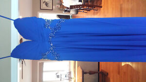 2016 gorgeous blue Prom dress