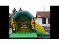 2012 Airquee bounce and slide. Other bouncy castles for sale.