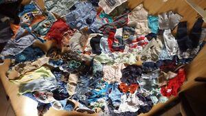 Lot de vêtements bébé garçon de 3 mois à 18 mois