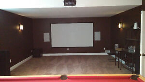 TV & Home Theatre Install H T A V.ca Stratford Kitchener Area image 1