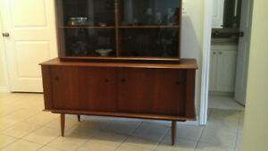 Mid Century Antique Teak Wood Dining Set