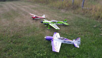 RC airplanes for sale.