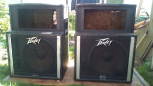 PEAVEY SP-2A SPEAKERS