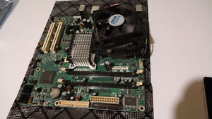 Intel matx motherboard with celeron D 3.33Ghz