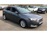 2014 Ford Focus 1.6 125 Titanium (Nav) Powersh Automatic Petrol Hatchback