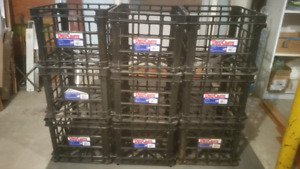 STORAGE CRATES  .... $25 FOR ALL NINE!!
