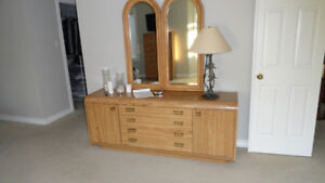 Dresser and Double Mirror Combo