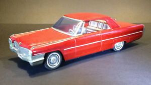 Vintage 1966 Cadillac Coupe DeVille 2-dr Hardtop Toy Car by ATC