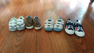 Baby shoes sizes 2 and 3