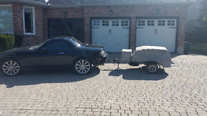 Motorcycle trailer small car trailer