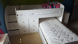 Bel Aire Children's Furniture Outlet BED White