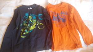 Boys size 7 shirts