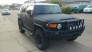 Toyota FJ Cruiser with Line-X Armor Plating