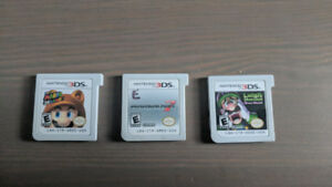 NINTENDO 3DS AND 2DS WITH GAMES