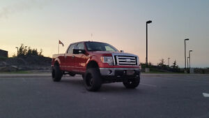 2009 Ford F-150 Xlt Pickup Truck lifted with 35inch tires