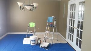 interior painting & wall repair-locally owned-quality work