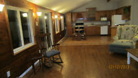 Furnished St Lawrence Waterfront 3 bdr bungalow, near Cardinal