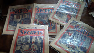 Vintage Magazines: Secrets, 1937, Published in Great Britain
