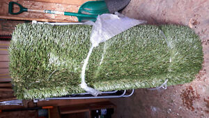 roll of fake turf