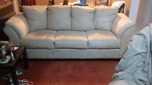Light coloured couch for sale