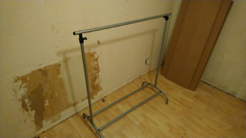 Adjustable Freestanding Clothes Rack In Lewisham London