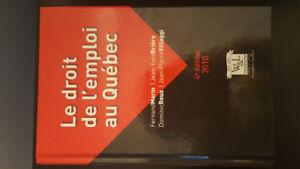 Le droit de l'emploi au Québec,  4e édition NEUF
