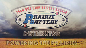 Prairie Battery *MAY SPECIAL* Group 31S 850 or 31A 850 Batteries