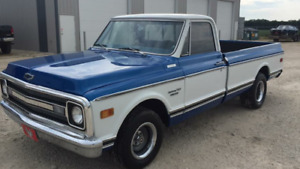 1970 Chevrolet C-10 Custom Restored