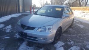 2001 Acura 1.7EL Safetied & Fully Loaded