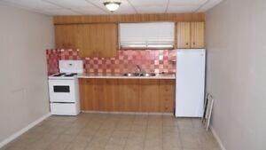 Vegreville - One bedroom basement suite