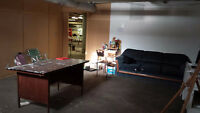 commercial basement workshop/storage space for Rent