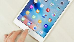 iPad Mini 4, 128 GB, Rose Gold, New, applecare till Sept. 5, 19