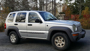 2002 Jeep Liberty Sport SUV
